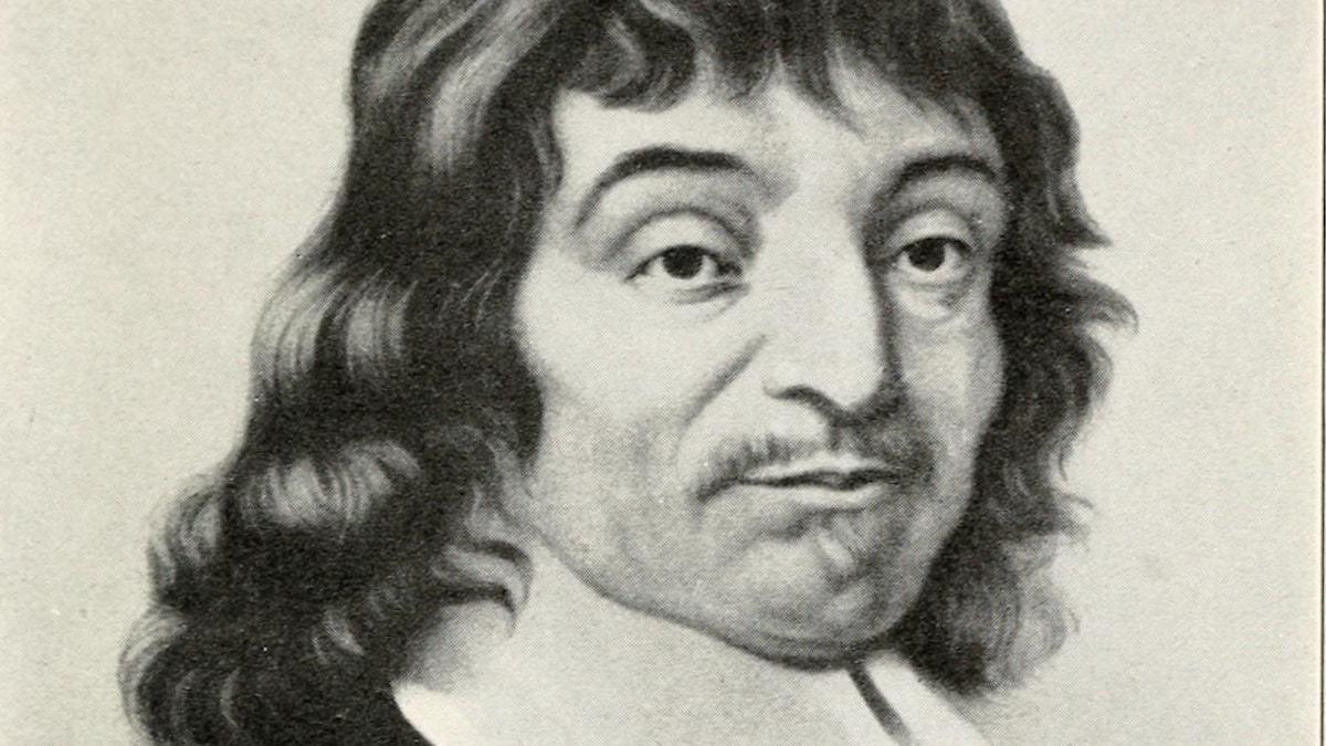 René Descartes. Nyare forskning ifrågasätter om han, trots sina tankar, verkligen fanns. Eller?
