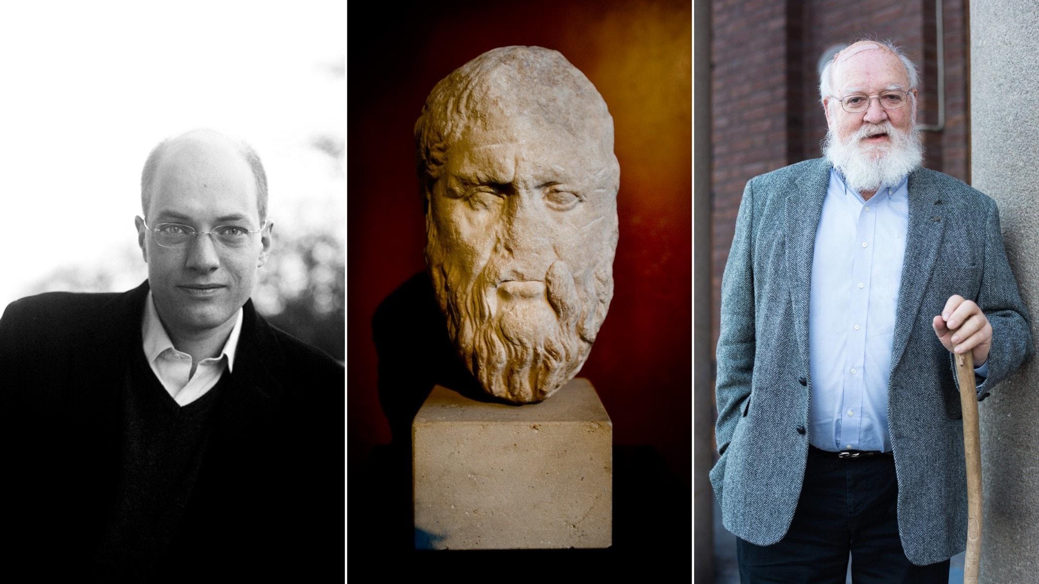 Alain de Botton, Platon och Daniel C. Dennett