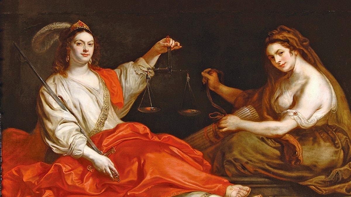 """Grunden till värdegrunden? """"Rättvisa och Harmoni"""" av Theodoor van Thulden (1606-1669)"""