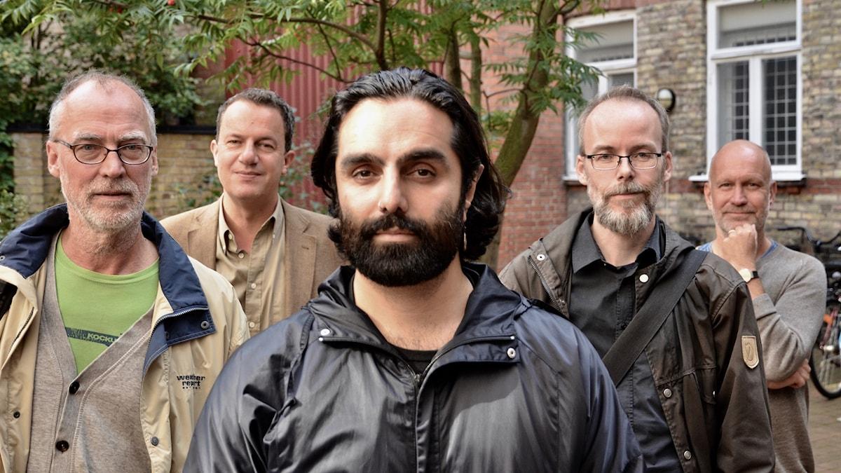 Mats Olsson, Thomas Lunderquist (producent), Navid Modiri, Kutte Jönsson och Lars Mogensen