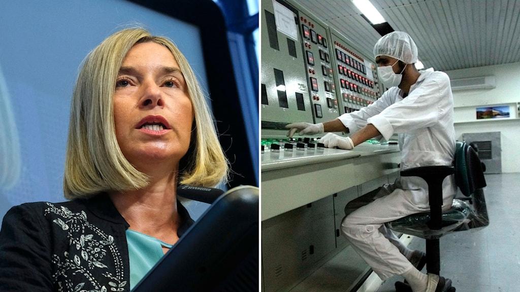 Federica Mogherini Iran kärnavtal