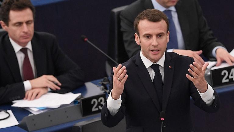 Debatt i Europaparlamentet
