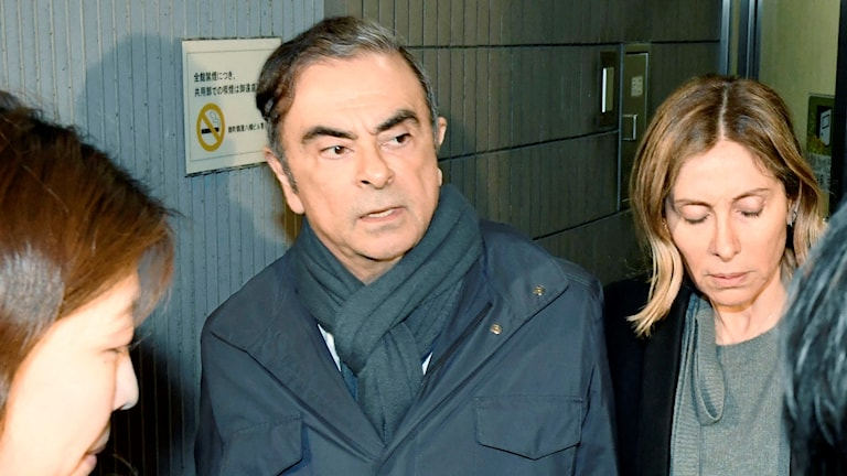 Nissans tidigare chef Carlos Ghosn