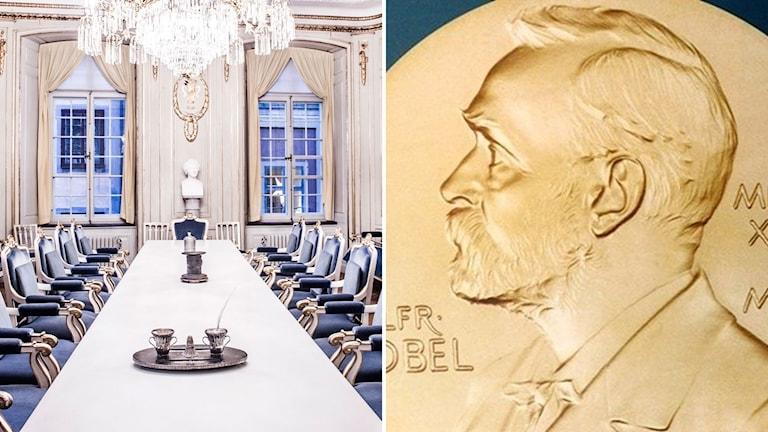 Svenka Akademien och Nobelmynt