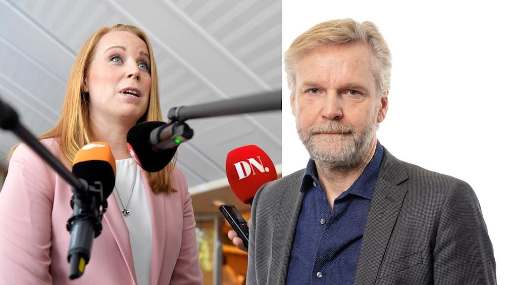 Annie Lööf och Thomas Ramberg