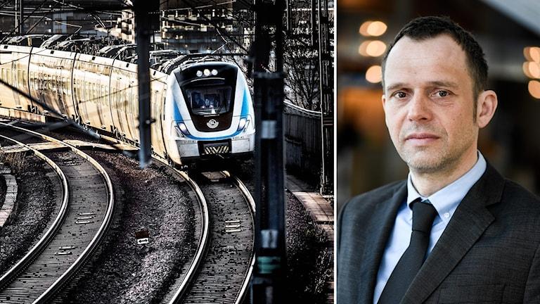 Jens Holm, Vänsterpartiets klimatpolitiska talesperson.