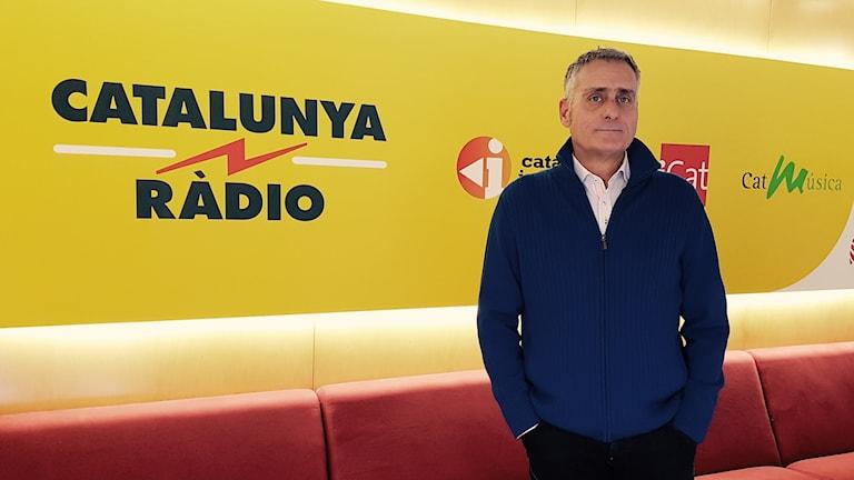 Marti Farrero, politisk analytiker på Catalunya radio. Foto: Joan Marí.
