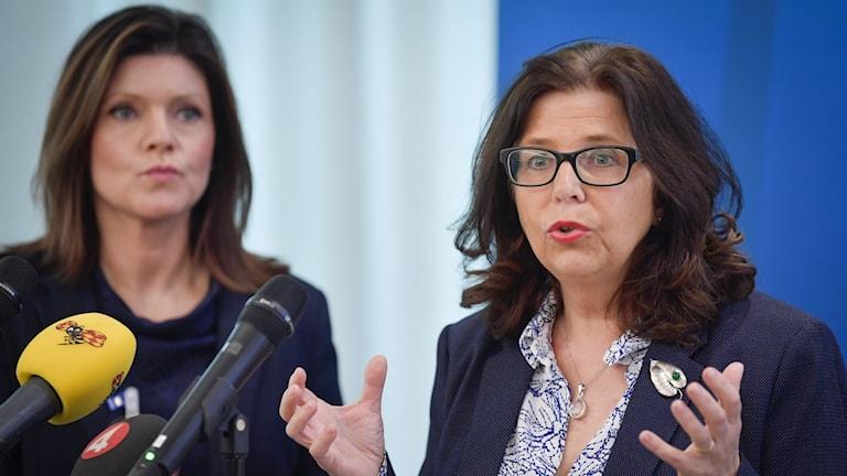 Arbetsförmedlingens generaldirektör Maria Mindhammar.