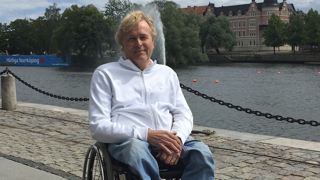 Sportskytten Jonas Jacobsson från Krokek.