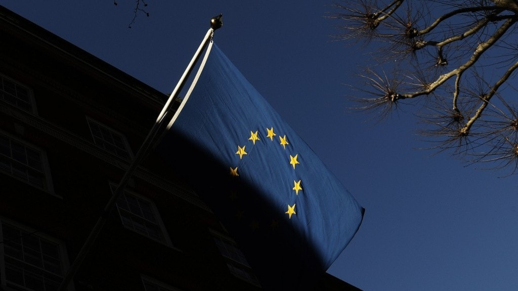En eu-flagga