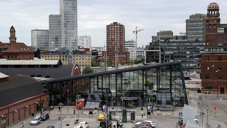 Översiktsbild över Malmö