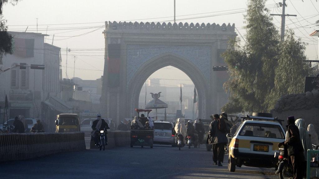 Staden Kandahar i södra Afghanistan.