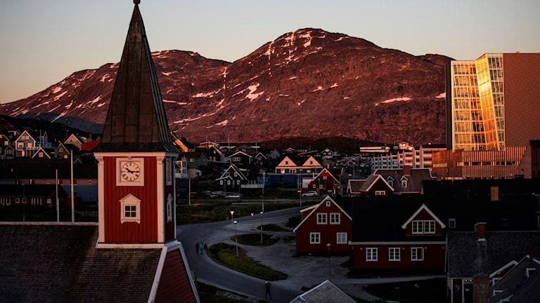 Nuuk på Grönland