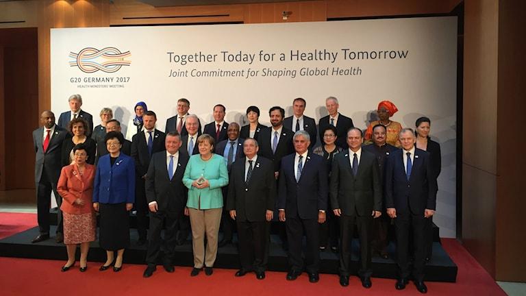 G20-gruppens hälsoministrar har samlats för första gången och diskuterat hur länderna som representerar 80 % av den globala ekonomin kan möta ökande antibiotikaresistens och nästa globala epidemi.