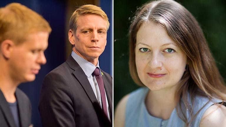 Maggie Strömberg Fridolin Per Bolund Miljöpartiet