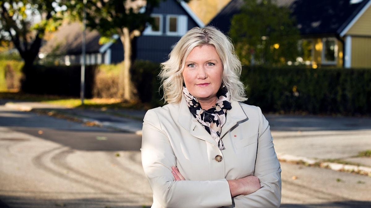 Socialdemokraternas partisekreterare Lena Rådström Båstaad.