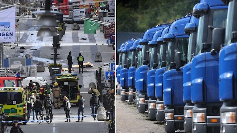 Drottninggatan lastbilar genre
