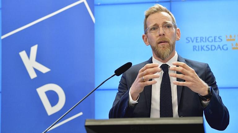 Kristdemokraternas ekonomiskpolitiske talesperson Jakob Forssmed.