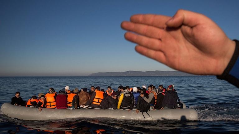 Flyktingbåt