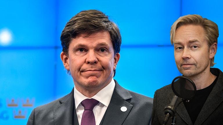 Talmannen och Fredrik Furtenbach.