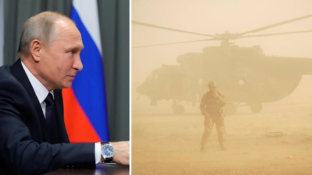 Arkivbild. Rysslands president Vladimir Putin.