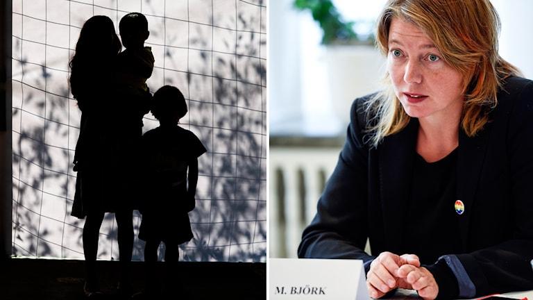 Sverige håller fast vid stränga regler för familjeåterförening