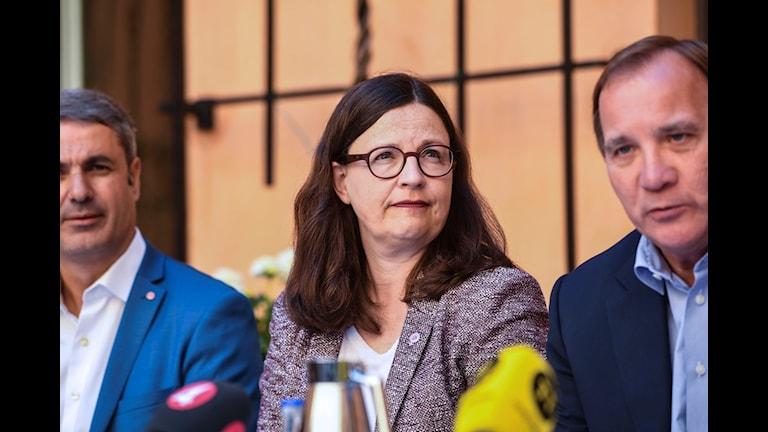 Anna Ekström (S), gymnasie- och kunskapslyftsminister
