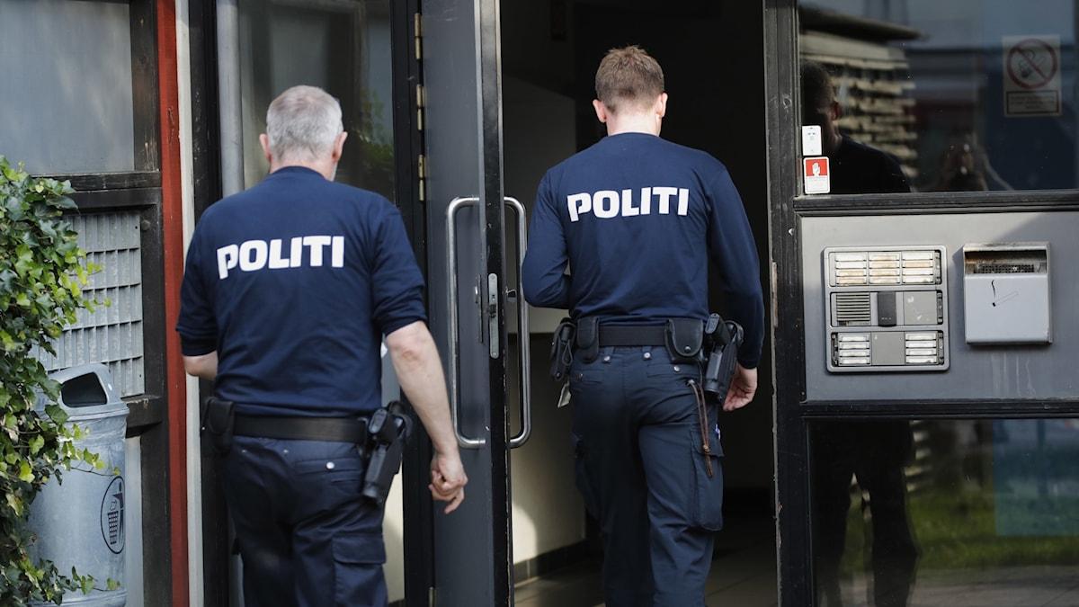 Danska poliser.