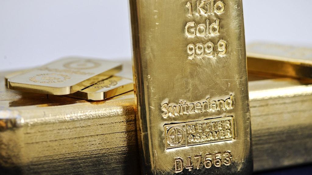 Bild på guldtacka