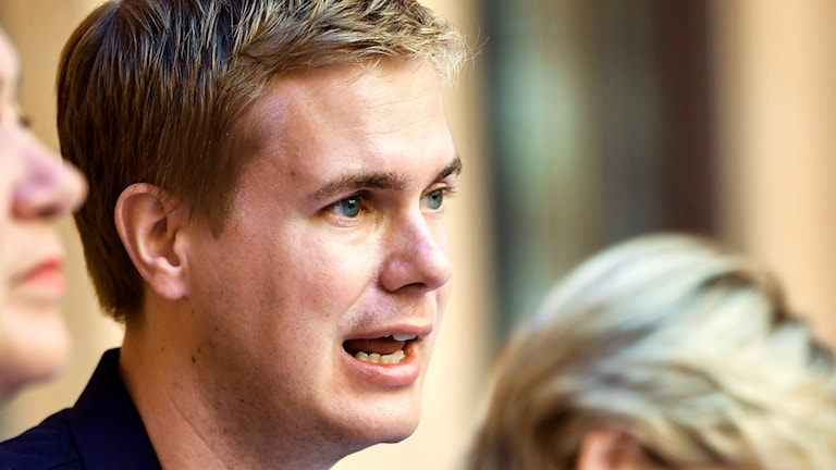 Gustav Fridolin, språkrör Miljöpartiet, utbildningsminsiter