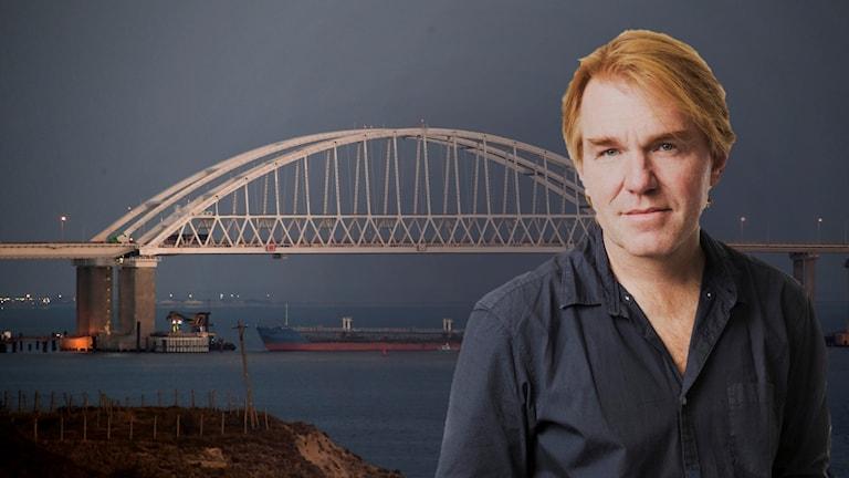 Sveriges Radios korrespondent Jesper Lindau.