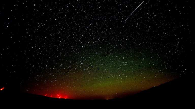 Perseidernas meteorregn i Dayton, USA, förra året.