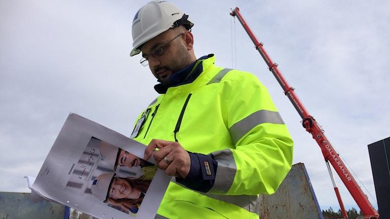 Samir Al-Haddad, byggingenjör, byggordlista Skanska