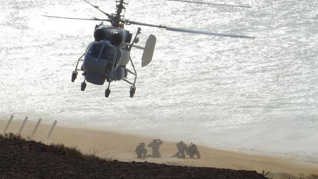 Ryssland krim militärövning försvar Maria persson löfgren
