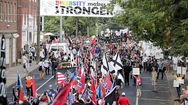 Demonstration Charlottesville Virginia