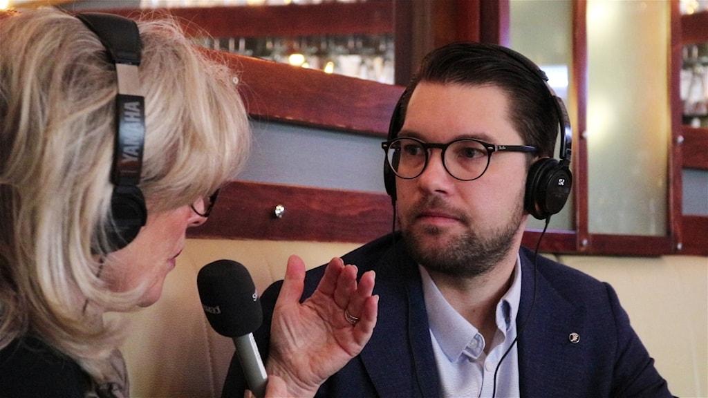 "Helena Groll intervjuar Jimmie Åkesson i intervjuserien ""Mitt Sverige""."