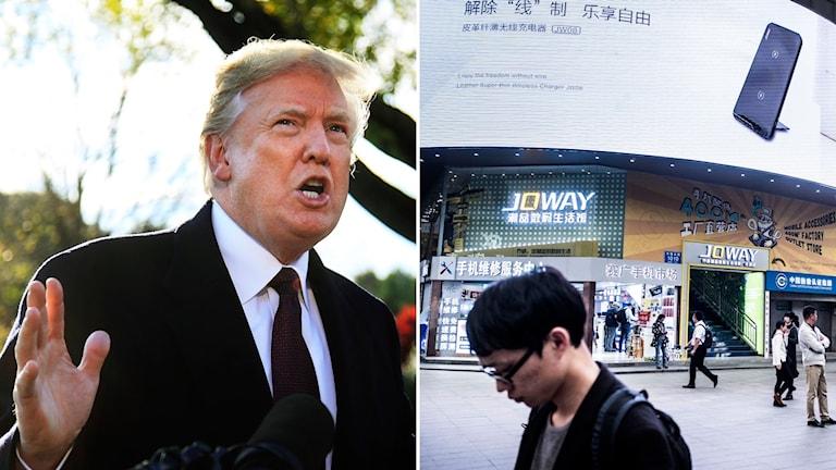 Trump och handeln i Kina