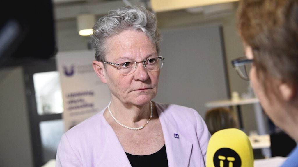 Karin Röding, generaldirektör för UHR.