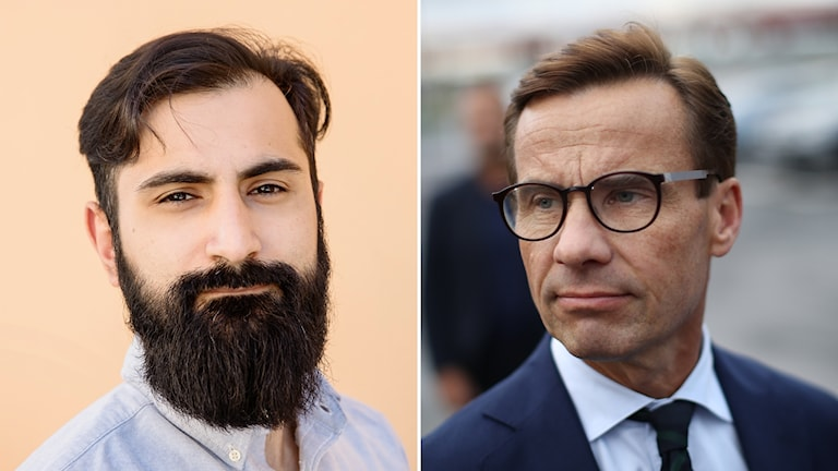 Hanif Bali och Ulf Kristersson (M)
