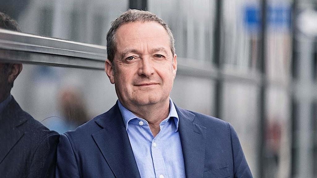 Danske banks VD Chris Vogelzang.