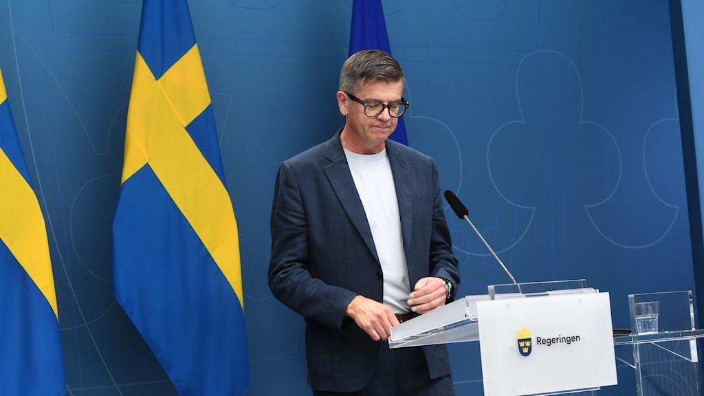 Diskrimineringsombudsmannen Lars Arrhenius.