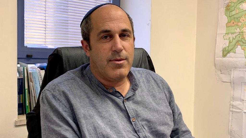 Arieh King, bosättarledare och stadspolitiker i Jerusalem.