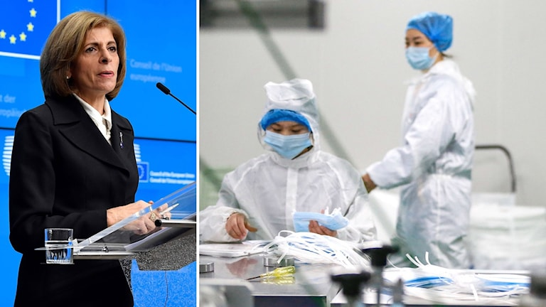 EU:s hälsominister Stella Kyriakides.