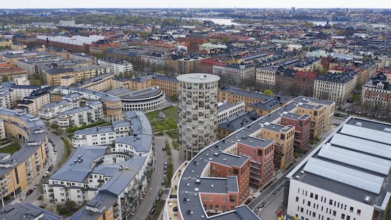 Vy över stockholm.