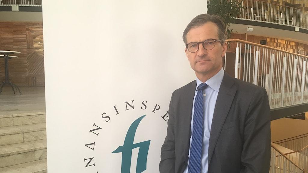 Erik Thedéen, generaldirektör Finansinspektionen.