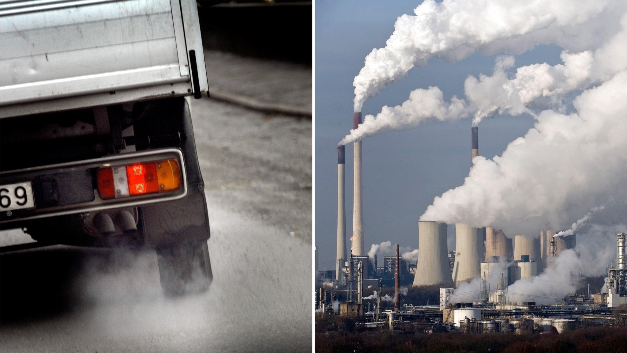 Koldioxidutslappen slar nya rekord