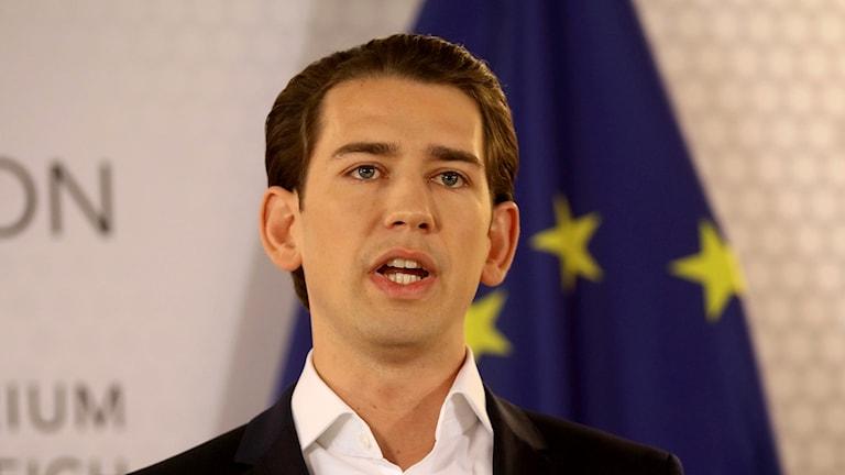 Österrikes utrikesminister väntas ta över sedan partiledaren för det konservativa koalitionspartiet avgått.