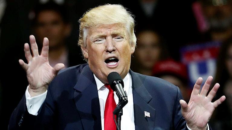 USA:s blivande president Donald Trump.