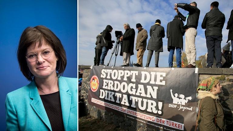 Marie Granlund S ställer krav på Turkiet Foto: TT