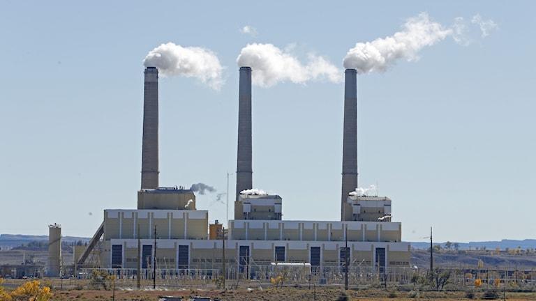 Koleldat kraftverk i Utah i USA.